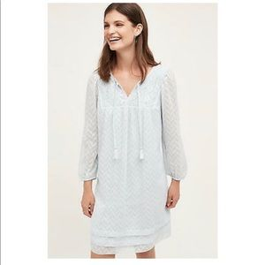Anthropologie One September Carroroe Peasant Dress